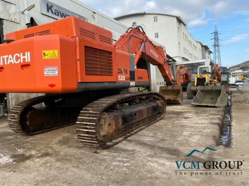 Used excavator HITACHI ZX520LCH-3 2010 from EU