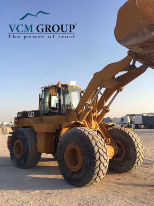Wheel Loader CAT 966F2 1995 from ASIA