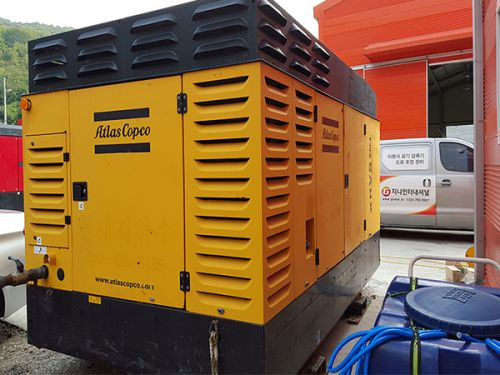 Air Compressor ATLAS COPCO XRVS476CD